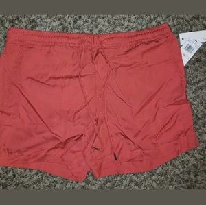Calvin Klein Casual Drawstring Dusty Coral Shorts